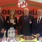 Cristina García gerente de Garibaldi asistiendo a Fruit Atracction 2014