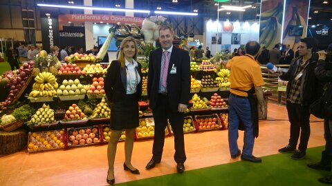 Garibaldi Fruits en Fruit Attraction 2015